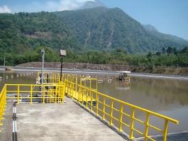 Mapa de hidroeléctricas