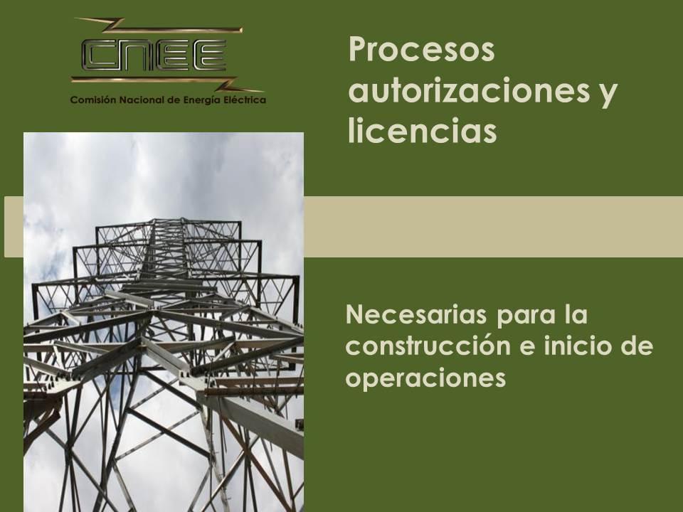 Procesos, Autorizaciones y Licencias